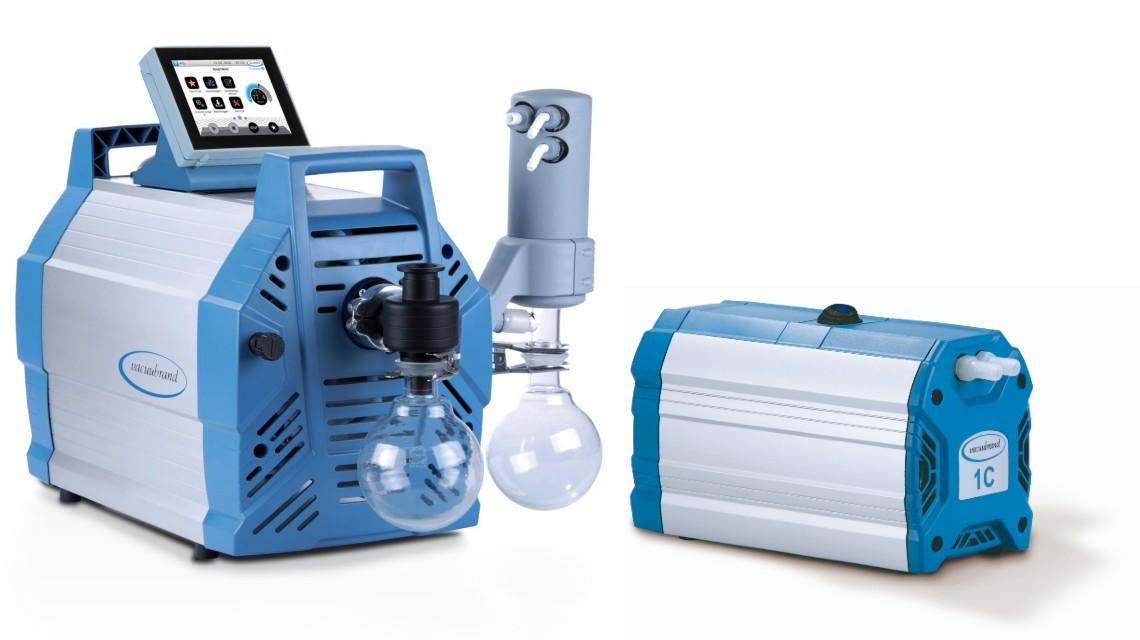 Unterschiedliche Größen und Saugvermögen von Vakuumpumpen