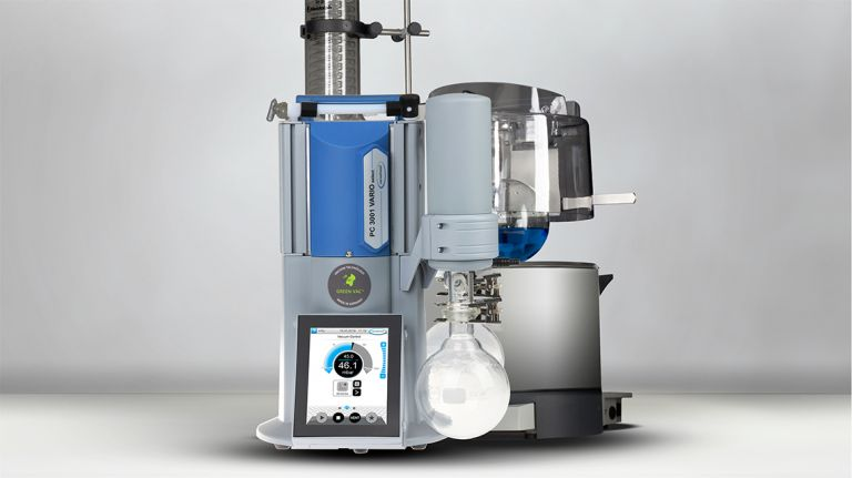 Eine Vakuumregelung erlaubt die sichere und effiziente Prozessführung.