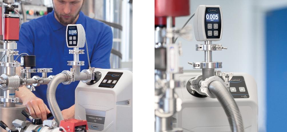 Öl- und abriebfrei als Vorpumpe für Turbomolekularpumpen