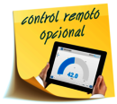 optional remote control