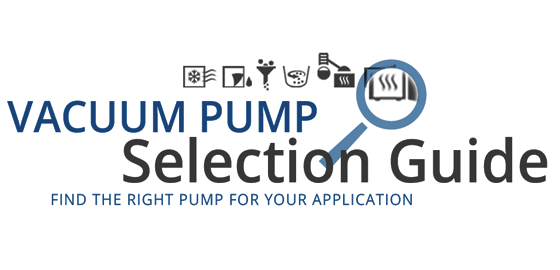 The right vacuum pump for your application