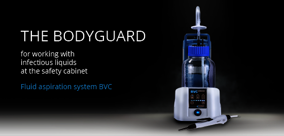 Fluid aspiration system BVC