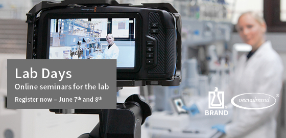 Lab Days – online seminars for the lab
