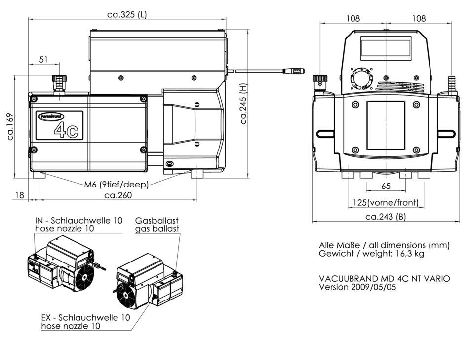 precision vacuum pump dd 20 manual